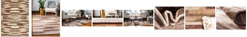 Bridgeport Home Jasia Jas03 Beige 9' x 12' Area Rug
