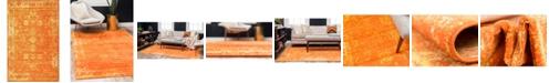 "Bridgeport Home Basha Bas1 Orange 3' 3"" x 5' 3"" Area Rug"