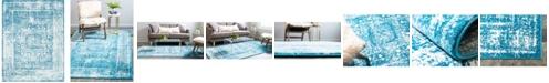 Bridgeport Home Mishti Mis1 Blue 8' x 10' Area Rug