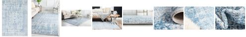 Bayshore Home Bridgeport Home Zilla Zil3 Light Blue 10' x 14' Area Rug