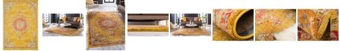 Bridgeport Home Lorem Lor1 Gold 10' x 14' Area Rug