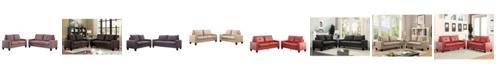 Acme Furniture Platinum II Sofa and Loveseat