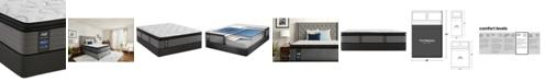 "Sealy Posturepedic Plus Shore Drive LTD 14"" Plush Euro Pillow Top Mattress Set- Full"