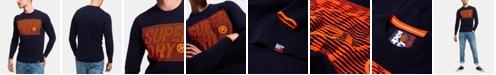 Superdry Men's Long-Sleeve Logo T-Shirt