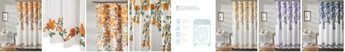 "Lush Decor Tanisha 72"" x 72"" Floral Shower Curtain"