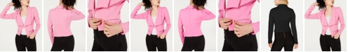 Material Girl Juniors' Cropped Blazer, Created for Macy's