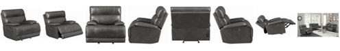 Coaster Home Furnishings Stanford Power Glider Recliner with Power Headrest and Bluetooth Remote Connectivity
