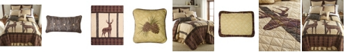 American Heritage Textiles Brown Antler Woods Cotton Quilt Collection