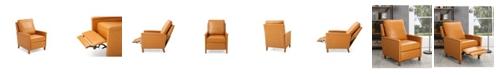 Gold Sparrow Prescott Recliner Chair with Nailhead Trim