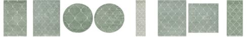 Bridgeport Home Fazil Shag Faz5 Light Green Area Rug Collection