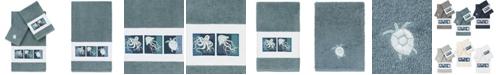 Linum Home 100% Turkish Cotton Ava 3-Pc. Embellished Towel Set
