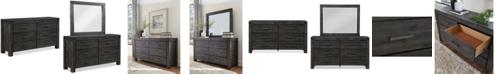 Furniture Avondale Graphite Dresser