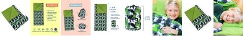 Wildkin Green Camo Sleeping Bag