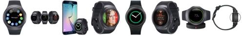 Samsung Unisex Gear S2 Smart Watch with 42mm Stainless Steel Case & Dark Gray Sport Strap R7200ZKAXAR