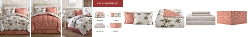 Fairfield Square Collection Palm Tree Reversible 6-Pc. Twin Bedding Set