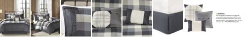 Madison Park Ridge 7-Pc. Queen Comforter Set