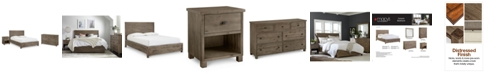 Furniture Canyon Platform Bedroom Furniture, 3 Piece Bedroom Set, Created for Macy's,  (California King Bed, Dresser and Nightstand)