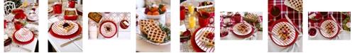 VIETRI Red Stripe Dinnerware Collection