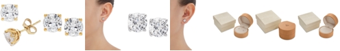 Grown With Love Lab Grown Diamond Stud Earrings (2 ct. t.w.) in 14k Gold or White Gold