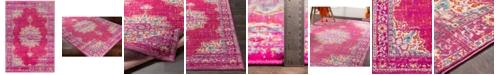 "Surya Paramount PAR-1101 Fuchsia 6'7"" x 9'6"" Area Rug"