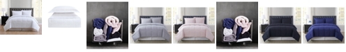Truly Soft Everyday Solid Full/Queen 3-Pc. Comforter Set