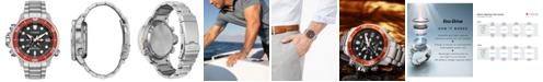Citizen Eco-Drive Men's Promaster Aqualand Stainless Steel Bracelet Watch 46mm