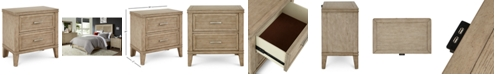 Furniture CLOSEOUT! Beckley USB Outlet Nightstand, Created for Macy's