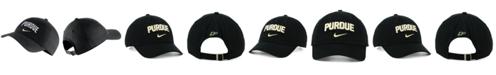 Nike Purdue Boilermakers H86 Wordmark Swoosh Cap