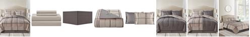 Sunham Cameron Reversible 6-Pc. Twin XL Comforter Set