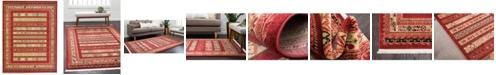 """Bridgeport Home Ojas Oja4 Rust Red 12' 2"""" x 16' Area Rug"""