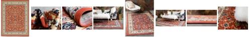 "Bridgeport Home Arnav Arn1 Terracotta 9' 10"" x 13' Area Rug"