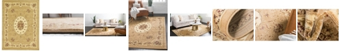 Bridgeport Home Belvoir Blv4 Tan 9' x 12' Area Rug