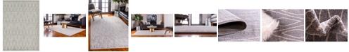 Bridgeport Home Fio Fio1 Gray 7' x 10' Area Rug