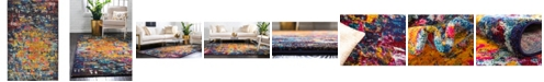 "Bridgeport Home Newwolf New4 Multi 10' 6"" x 16' 5"" Area Rug"