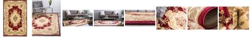 Bridgeport Home Belvoir Blv5 Red 5' x 8' Area Rug