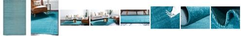 Bridgeport Home Axbridge Axb3 Teal 5' x 8' Area Rug