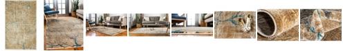 Bridgeport Home Aroa Aro1 Light Brown 2' x 3' Area Rug