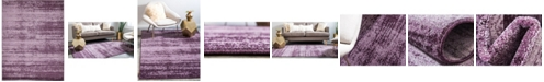 Bridgeport Home Lyon Lyo3 Violet 9' x 12' Area Rug