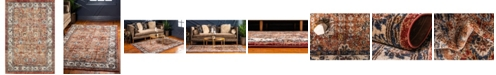 Bridgeport Home Shangri Shg2 Terracotta 4' x 6' Area Rug