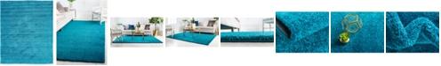 Bridgeport Home Uno Uno1 Turquoise 8' x 10' Area Rug