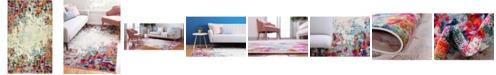 Bridgeport Home Crisanta Crs9 Multi 5' x 8' Area Rug