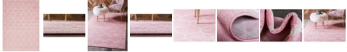 Bridgeport Home Plexity Plx2 Pink 9' x 12' Area Rug