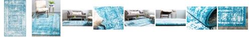 Bridgeport Home Mishti Mis1 Blue 5' x 8' Area Rug