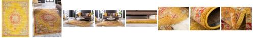 Bridgeport Home Lorem Lor1 Gold 9' x 12' Area Rug