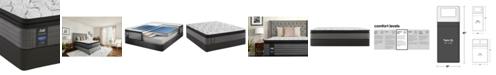 "Sealy Posturepedic Lawson LTD 13.5"" Cushion Firm Euro Pillow Top Mattress Set- Twin XL"