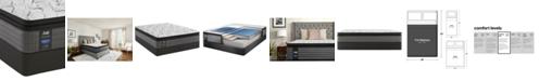 "Sealy Posturepedic Lawson LTD 13.5"" Cushion Firm Euro Pillow Top Mattress Set- Full"