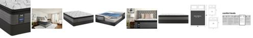 "Sealy Posturepedic Lawson LTD 13.5"" Plush Euro Pillow Top Mattress Set- Queen"