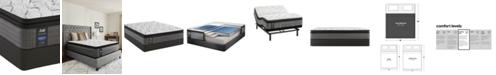 "Sealy Posturepedic Lawson LTD 13.5"" Cushion Firm Euro Pillow Top Mattress Set- King"