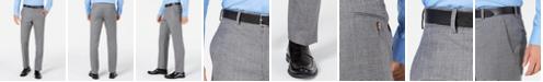 Lauren Ralph Lauren Men's Classic-Fit UltraFlex Stretch Black/White Mini-Houndstooth Suit Pants