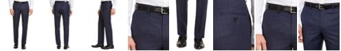 Lauren Ralph Lauren Men's Classic-Fit UltraFlex Stretch Blue Check Suit Pants
